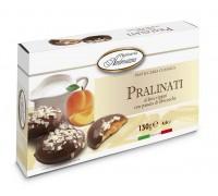 "Печенье в шоколаде Амброзиана ""Пралинати"" с абрикос.начинкой (Pralinati di albicocche) 130г"