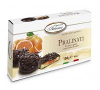 "Печенье в шоколаде Амброзиана ""Пралинати"" с апельсин.начинкой (Pralinati di arance) 130г"