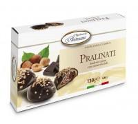 """Печенье в шоколаде Амброзиана """"Пралинати"""" с ореховой начинкой (Pralinati nocciola) 130г"""
