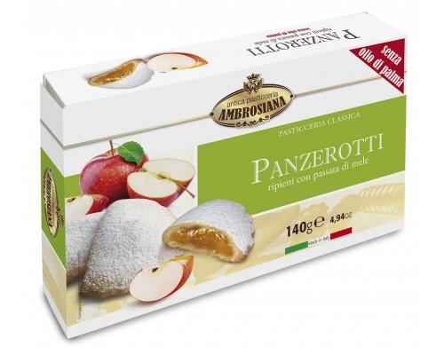 """Амброзиана Печенье (сочники) """"Панцеротти"""" с яблоком (Panzerotti di mele) 140г"""