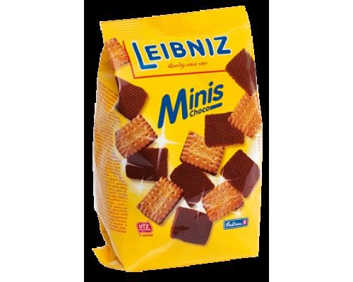 Бальзен Лейбниц Минис Шоко печенье сливочно-шоколадное 100гр