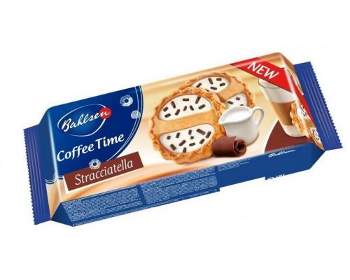 Бальзен Кофи Тайм Страчателла Печенье со сливочным кремом и шок. стружкой 160гр