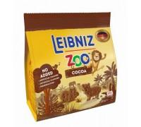 Бальзен Лейбниц Зоо Джунгли печенье с какао в виде фигурок животных 100гр