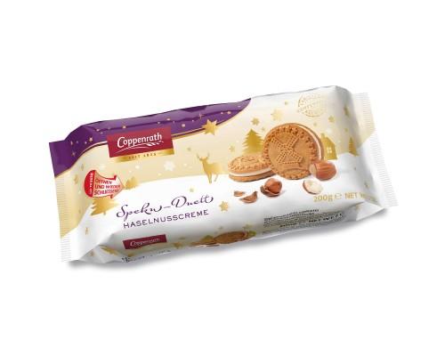Coppenrath Печенье Сендвич с ореховым кремом 200гр