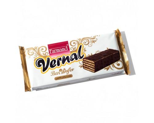 Вафли Farmand Vernal в шоколадной глазури 120гр.