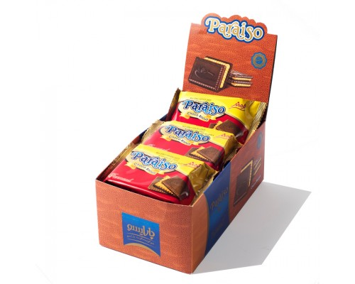 Печенье с шоколадом Farmand Параисо 42гр[1/9шт]
