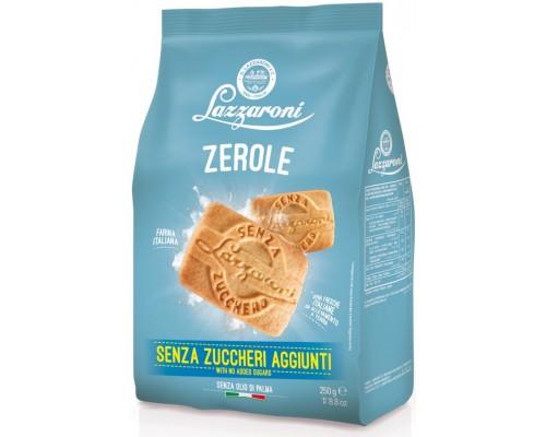 """Печенье Lazzaroni """"ZEROLE"""" к завтраку, без сахара 250гр"""