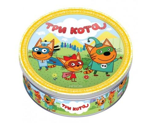 Печенье сдобное Монте Кристо ТРИ КОТА с клубникой 150 гр