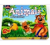 "Нора Печенье с какао кремом ""Animals"" (МЕДВЕЖАТА) (14.6г*12) 175г"