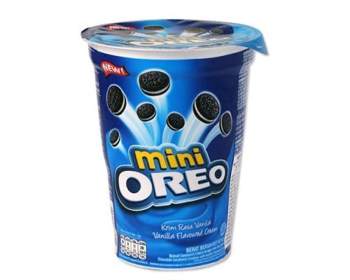 Печенье Oreo мини с ванильным кремом 67 гр