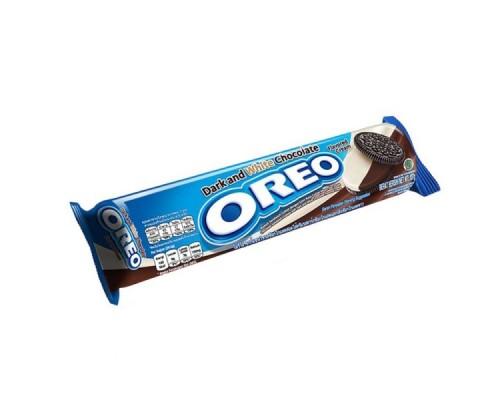 Печенье Oreo Темный и Белый с шоколадным и ванильным кремом 137 гр