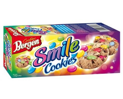 Печенье Bergen Cookies с Драже 135гр