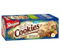 Печенье Bergen Cookies с Шоколадом и лесным орехом 135гр