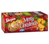 Печенье Bergen Original Cookies с кусочками шоколада и цедрой апельсина 135гр