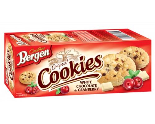 Берген Печенье Cookies с Клюквой 135гр