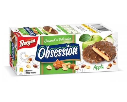 Берген Печенье Obsession Яблоко 140гр