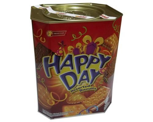 Печенье SHOON FATT Счастливый день ассорти 600 гр