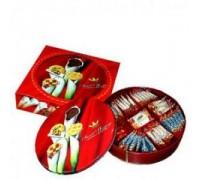 Печенье Татава Sweet Message  (шоколад.крошка, ананас) 600 гр