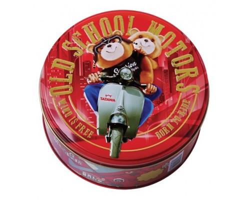 Печенье тирамису Tatawa Мишки на мотоцикле 108 гр