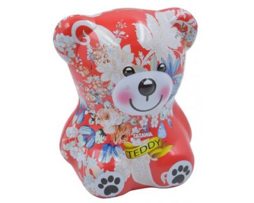 Печенье с шоколадным кремом Tatawa Мишка Тедди Красный 144 гр