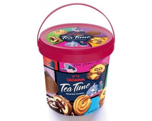 Печенье Tatawa Ти Тайм  пласт. ведро 400 гр