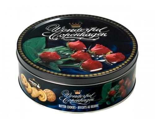 Печенье Якобсен Удивительный Копенгаген Роза 454г