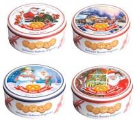 Бисквини  печенье Новогодний дизайн 7-в-1 сдобное ассорти 150 гр