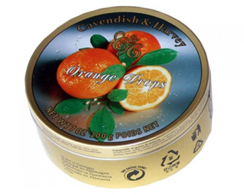 Кавендиш Леденцы апельсин 200г
