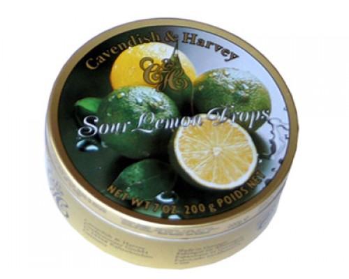Кавендиш Леденцы лимон 200г