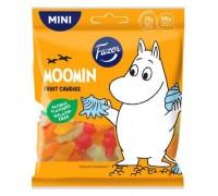 Мармелад FAZER Moomin жевательный с фруктовыми вкусами 80г