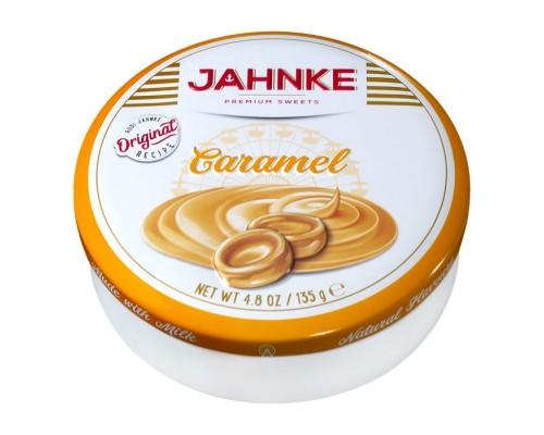 Леденцы Jahnke со вкусом карамели 135г