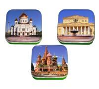 Монпансье Виды Москвы квадратная коробка 60г