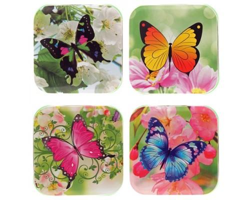 Монпансье Бабочки квадратная коробка 60гр[1/24шт]