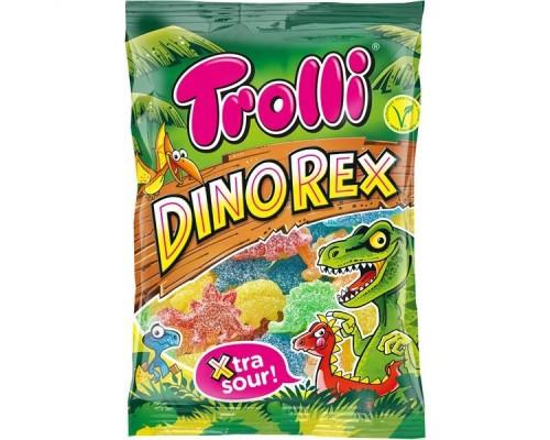 """Мармелад жевательный   """"Dino Rex"""" супер кислые 200гр"""