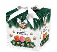 """Конфеты из пишмание Hajabdollah """"Зимняя сказка"""" ассорти  со вкусом клубники, арбуза и апельсина во  фруктовой глазури 300 гр куб"""