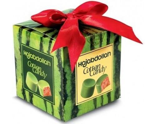 Конфеты из пишмание  со вкусом арбуза  во  фруктовой глазури 300гр куб