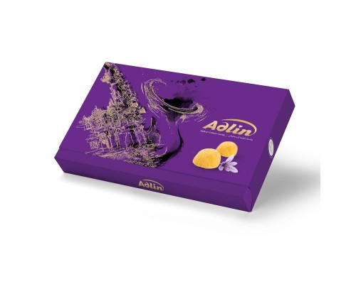 Adlin Царская пашмала  Ассорти со вкусом  шафрана Сиреневая 420гр
