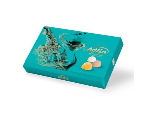 Adlin Царская пашмала  Ассорти со вкусом какао, ванили, шафрана Бирюзовая 420гр