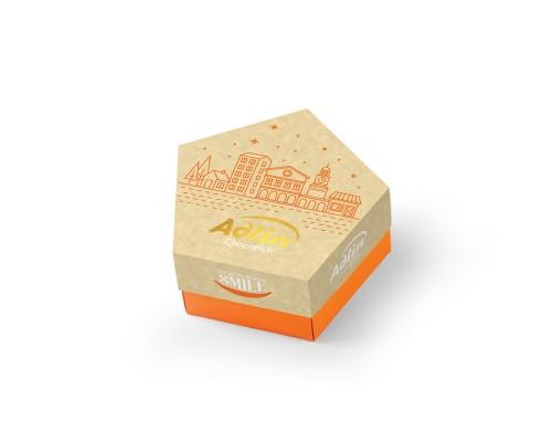 Adlin конфеты из пашмалы (Халва царская)в шоколадной глазури со вкусом миндаля 150гр