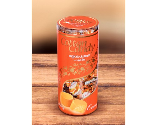 Халва царская в фруктовой глазури во вкусом апельсина  200гр туба