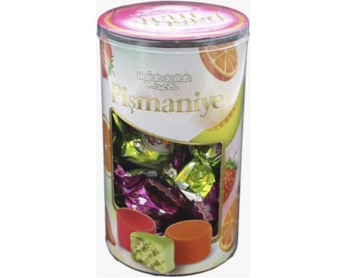 Конфеты из пишмание Фруктовое ассорти апельсин, дыня, клубника во фрукт.глазури 200гр туба