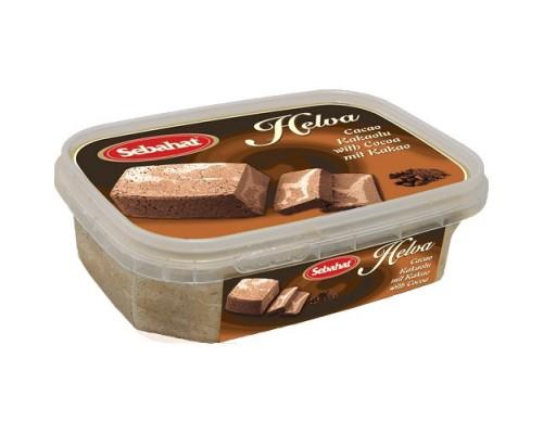 Себахат Халва тахинная  с какао 350г