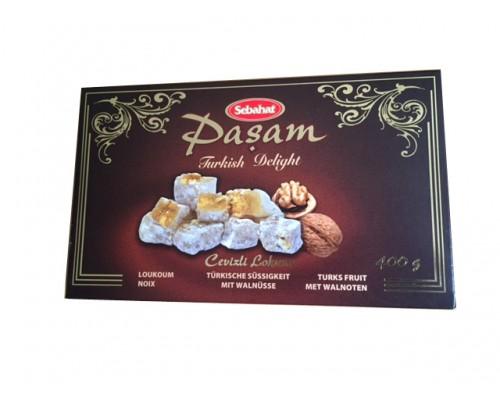 Себахат Рахат-лукум  с грецкими орехами (Pasam) 400г