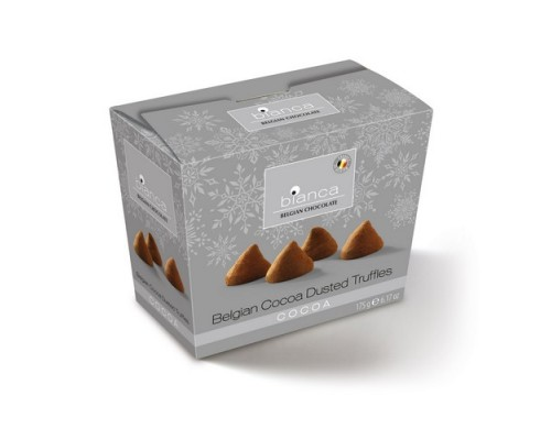 Bianca трюфели НГ со вкусом какао (cocoa) ZILVER 175г