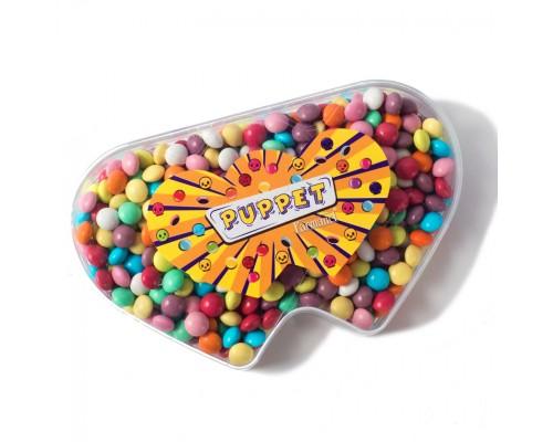 "Шоколадное драже Farmand ""Два сердца"" 160р"