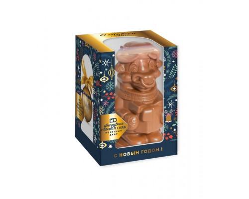 """Шоколадная фигурка """"Символ года"""" в подарочной коробке с окошком 100 гр[1/12шт]"""
