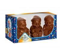 """Набор шоколадных фигурок """"Символ года Тигр""""   в подарочной коробке с окошком 300 гр"""