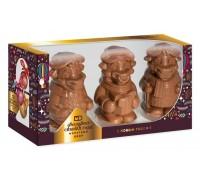 """Набор шоколадных фигурок """"Символ года""""   в подарочной коробке с окошком 300 гр"""