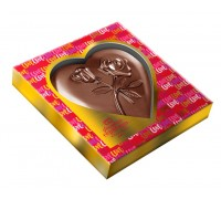 СЕРДЦЕ  шоколадная фигурка 100гр