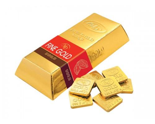 Слитки Золотой Стандарт набор шоколадок (12шт по 15гр)  180гр